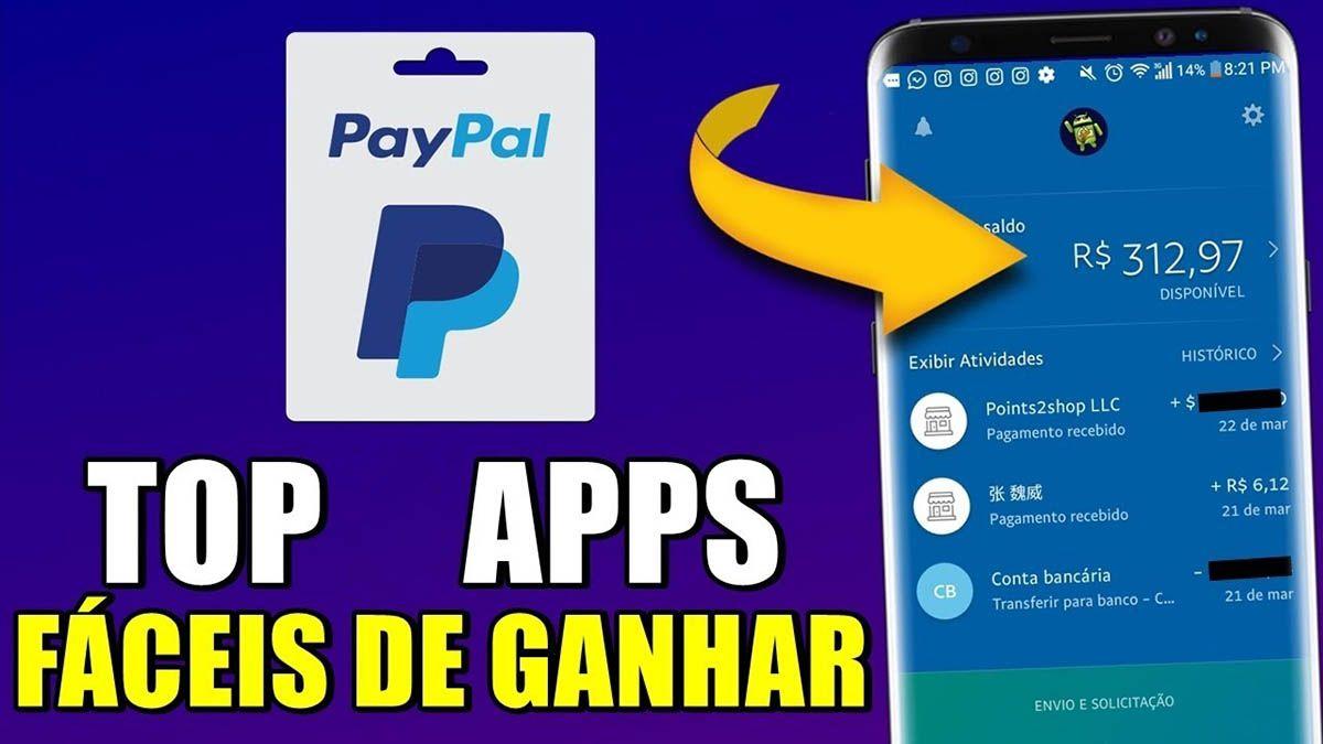 5 Apps para Ganhar Dinheiro no PayPal jogando