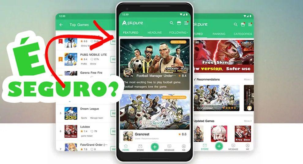 APKPure site para baixar Apps e Jogos é confiável
