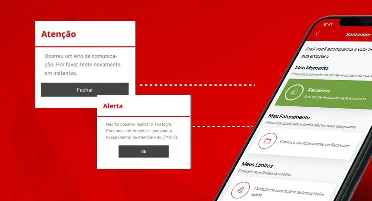 Aplicativo Santander Fora do Ar: Como corrigir o problema