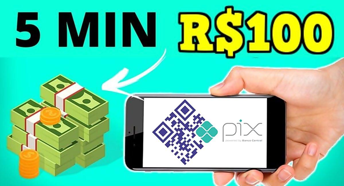 App pagando pelo Pix