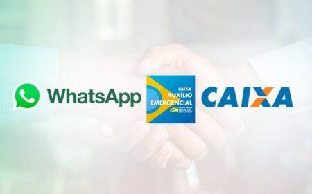 Auxílio Emergencial: Caixa e Whatsapp fecham parceria relacionada ao benefício