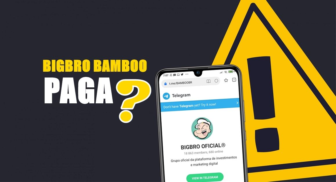 BIGBRO Bamboo App Como funciona - Plataforma é confiável