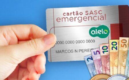 Cartão Sasc Emergencial Consulta: Quem tem direito e onde retirar o benefício de R$400