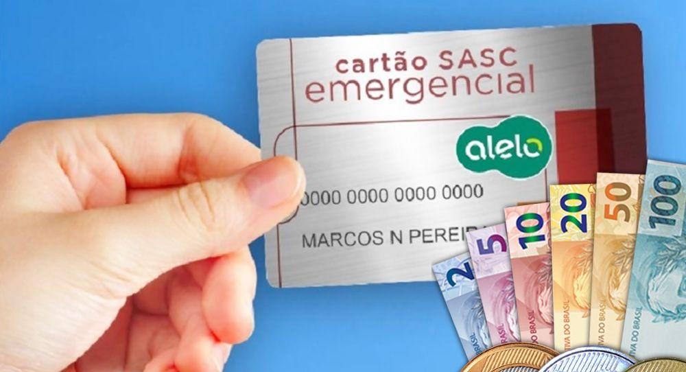 Cartão Sasc Emergencial Consulta Quem tem direito e onde retirar o benefício de R$400