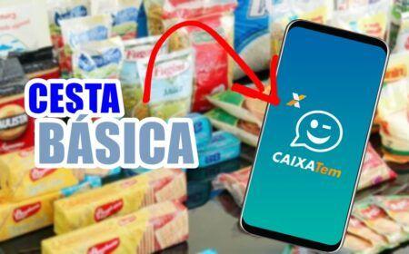 Cestas Básicas pelo Caixa Tem: Novo recurso conta com 3 meses de apoio + R$ 2 mil reais