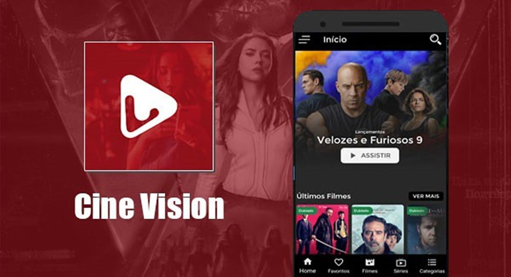 Cine Vision App Assistir Filmes, Séries e Animes no Celular, Tablet, PC ou Tv