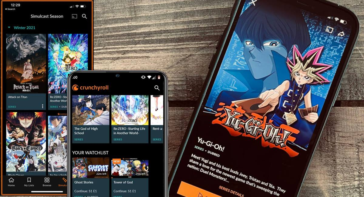 Crunchyroll App: assistir grátis animes aplicativo