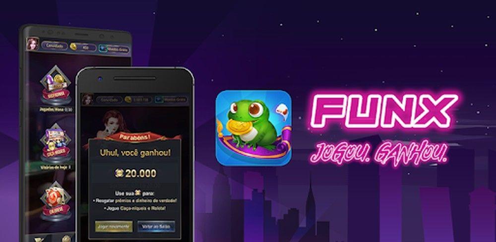 FunX e Quize: Jogos gratuitos para ganhar dinheiro pelo celular