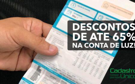 Aprovado! Inclusão de famílias do CadÚnico para receber descontos de até 65%