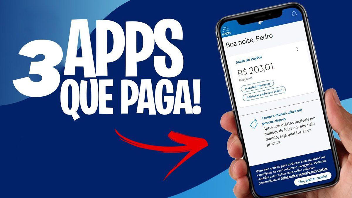 Lista de 3 Apps que Pagam até R$100,00 Reais por Dia