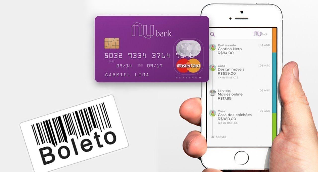 Nubank lança nova função: Veja como pagar boleto com cartão de crédito