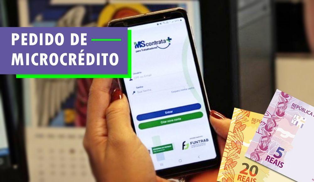 Pré-cadastro para programa de Microcrédito com juro zero