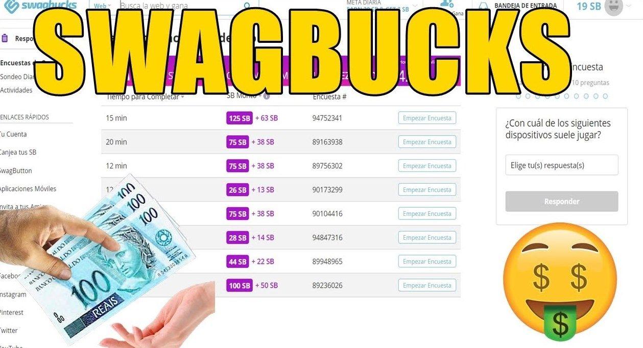 Swagbucks como funciona Veja como sacar de $10 por dia no PayPal através do site