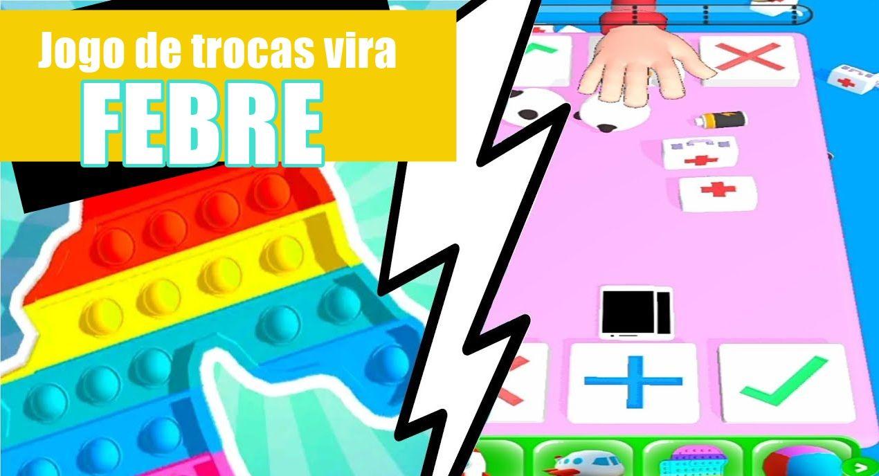 Trading Master 3D Fidget Pop App Jogo de trocas vira febre