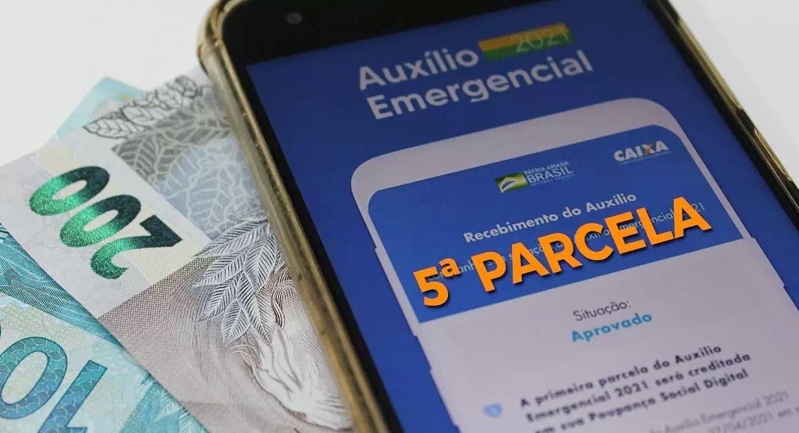 5ª parcela do Auxílio terá 7 pagamentos nesta semana