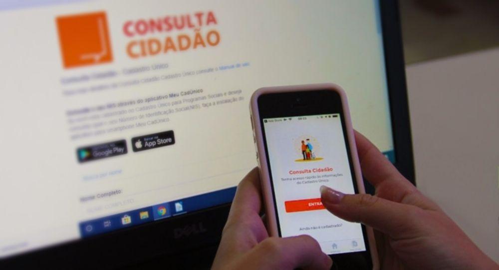Aplicativo Meu CadÚnico Atualizar cadastro Auxílio Brasil
