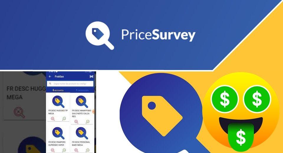 App Price Survey Aplicativo de pesquisas que paga via Pix Veja como responder as perguntas e ganhar por isso