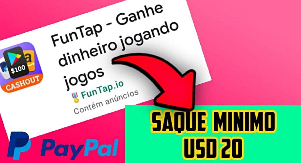 App pagando R$ 25 no Cadastro + R$103,78 por dia FunTap como se cadastrar
