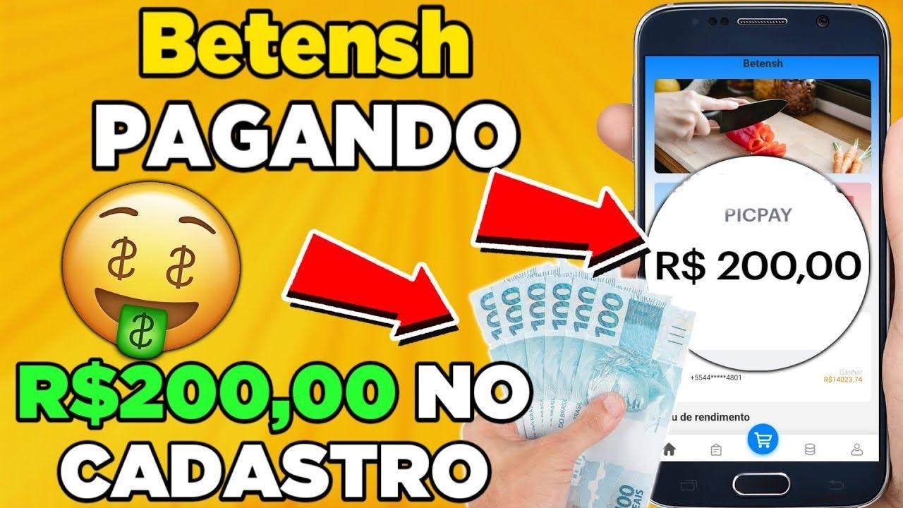 Betensh App Nova plataforma promete pagar R$15 por cadastro + valor por tarefa É confiável