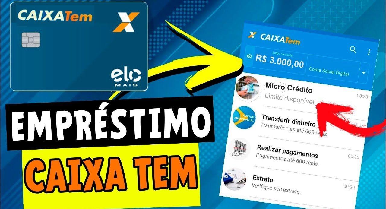 Brasileiros de baixa renda poderão solicitar cartão e empréstimos pelo Caixa Tem
