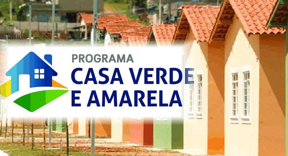 Casa Verde e Amarela 2022 Imóveis com desconto, Inscrição e Simulação