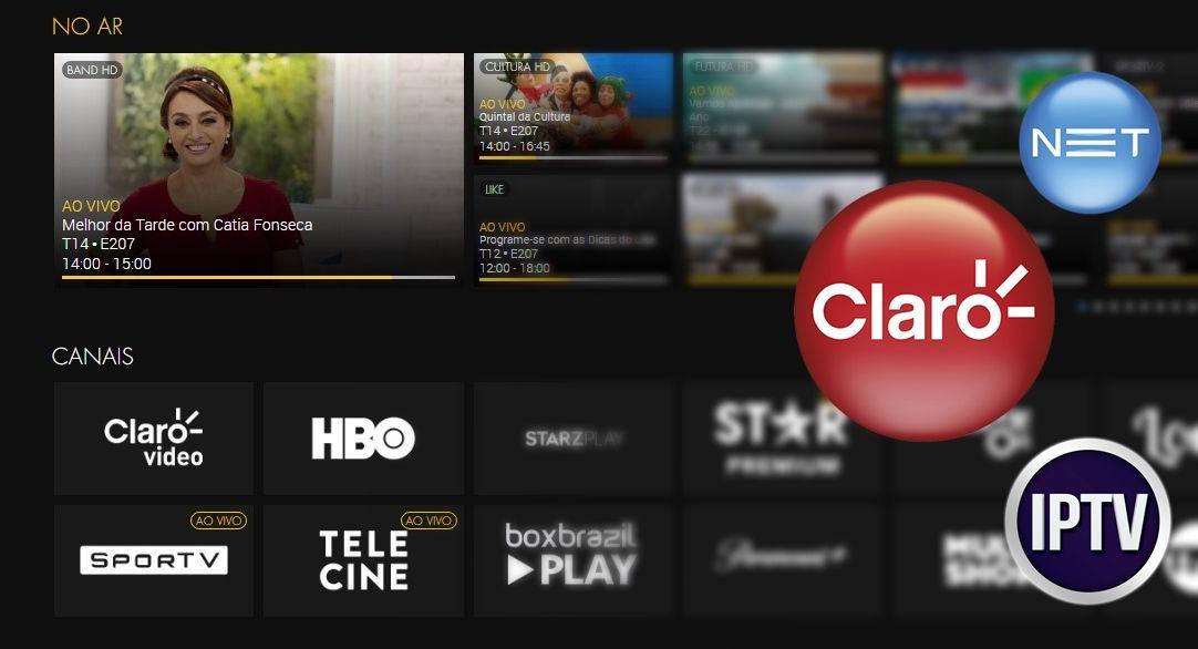 Claro App IPTV Canais, filmes e séries sem aparelho