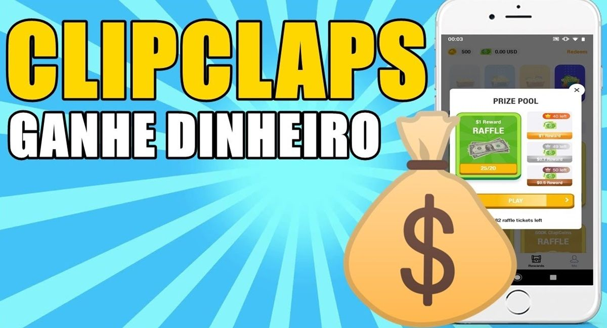 Como usar o ClipClaps para faturar olhando vídeos e jogando pelo celular