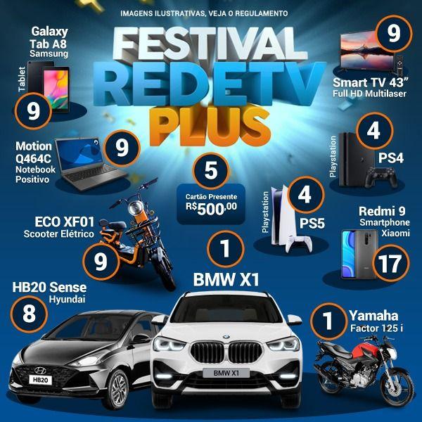 Festival de Prêmios RedeTV Plus