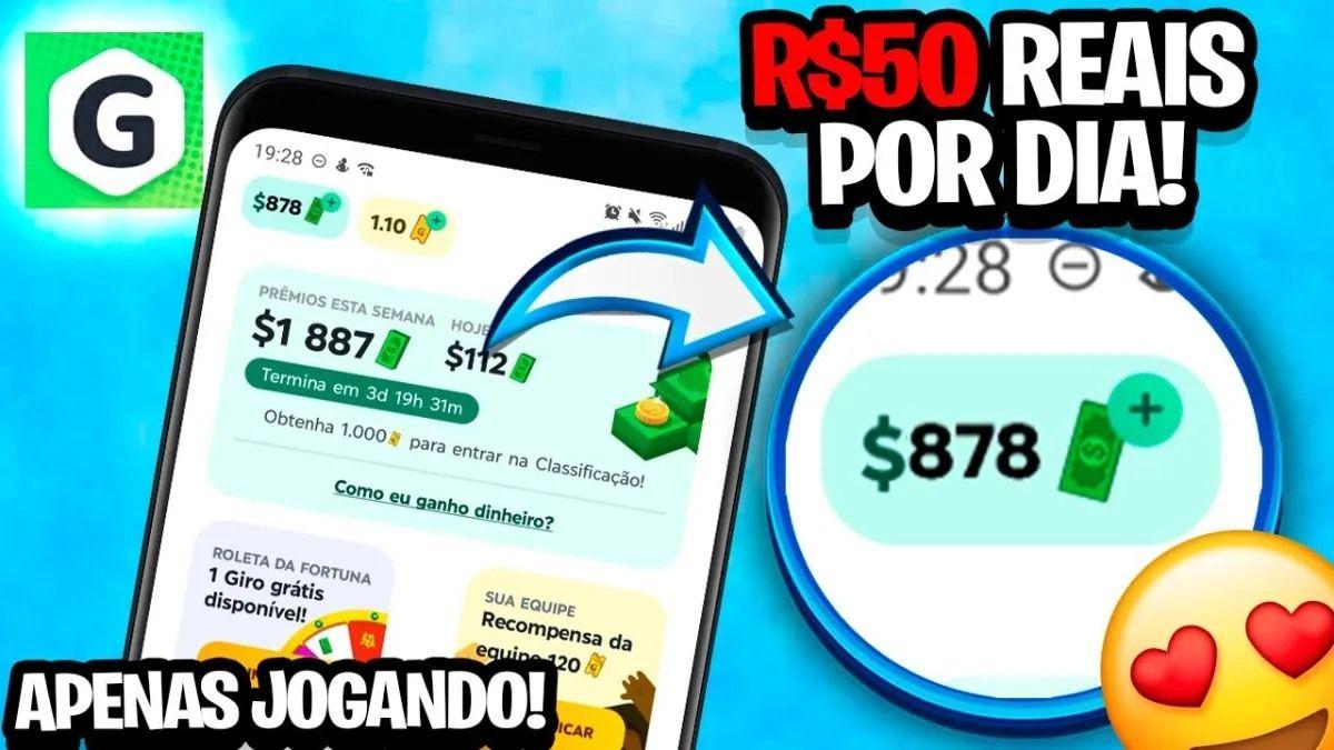 GAMEE Prêmios App Jogos Grátis com sorteios reais de até $10.000 mensal é real