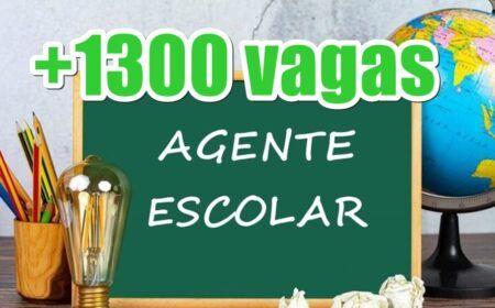 Inscrição Agentes Escolares abre seleção com 1.300 vagas: Salário, onde se inscrever e resultado