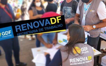 Inscrições Renova-DF 2021: Inscrição para bolsa de R$1,1 mil já está disponível