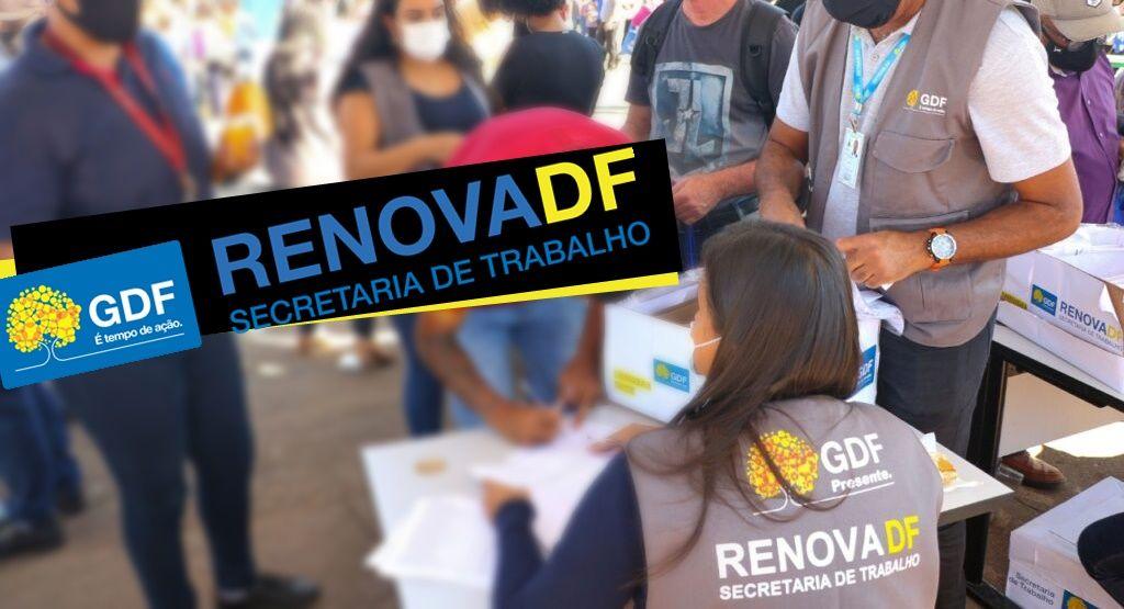 Inscrições Renova-DF 2021 Inscrição para bolsa de R$1,1 mil já está disponível