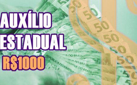 Inscrições para Auxílio estadual de R$ 1.000 estão abertas: Calendário com início em 30/08 – Veja como se inscrever
