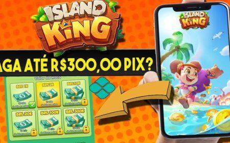 Island King App pagando via Pix. É Seguro Baixar? É Confiável? Quanto paga?