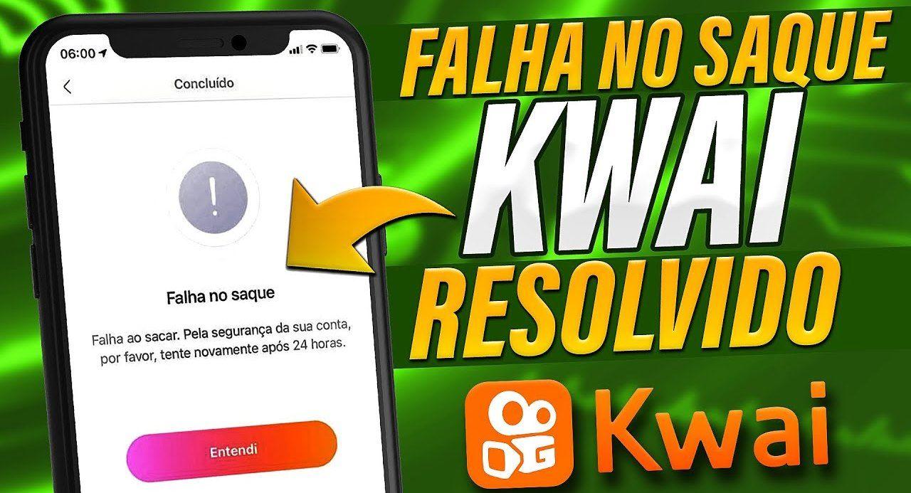 Kwai Falha no saque, rodar moeda novamente e ganhar dinheiro assistindo vídeos Saiba onde fica a aba de promoção