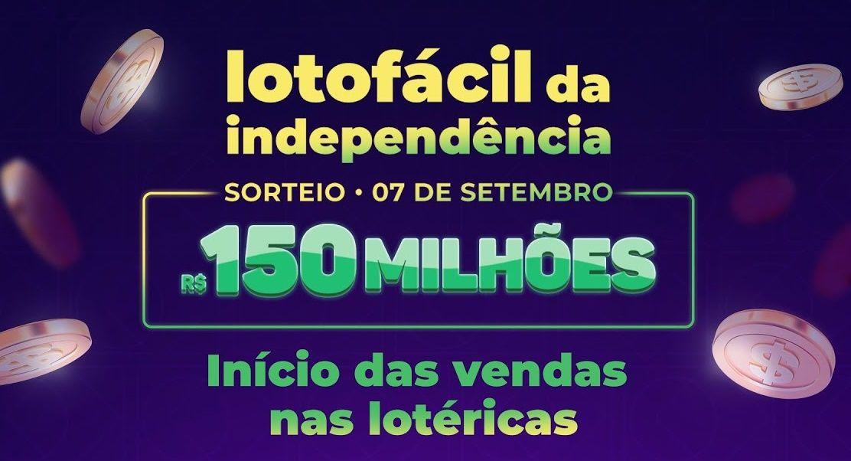 Lotofácil da Independência 2021 Veja como jogar, prêmio, números e resultado do último sorteio