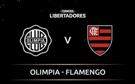 Olimpia x Flamengo ao Vivo Onde Assistir: Escalações, confrontos, palpite e arbitragem