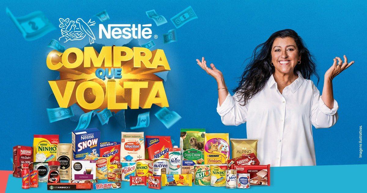 Promoção Nestlé Compra que Volta Cadastro, Prêmios e Prazo para participar