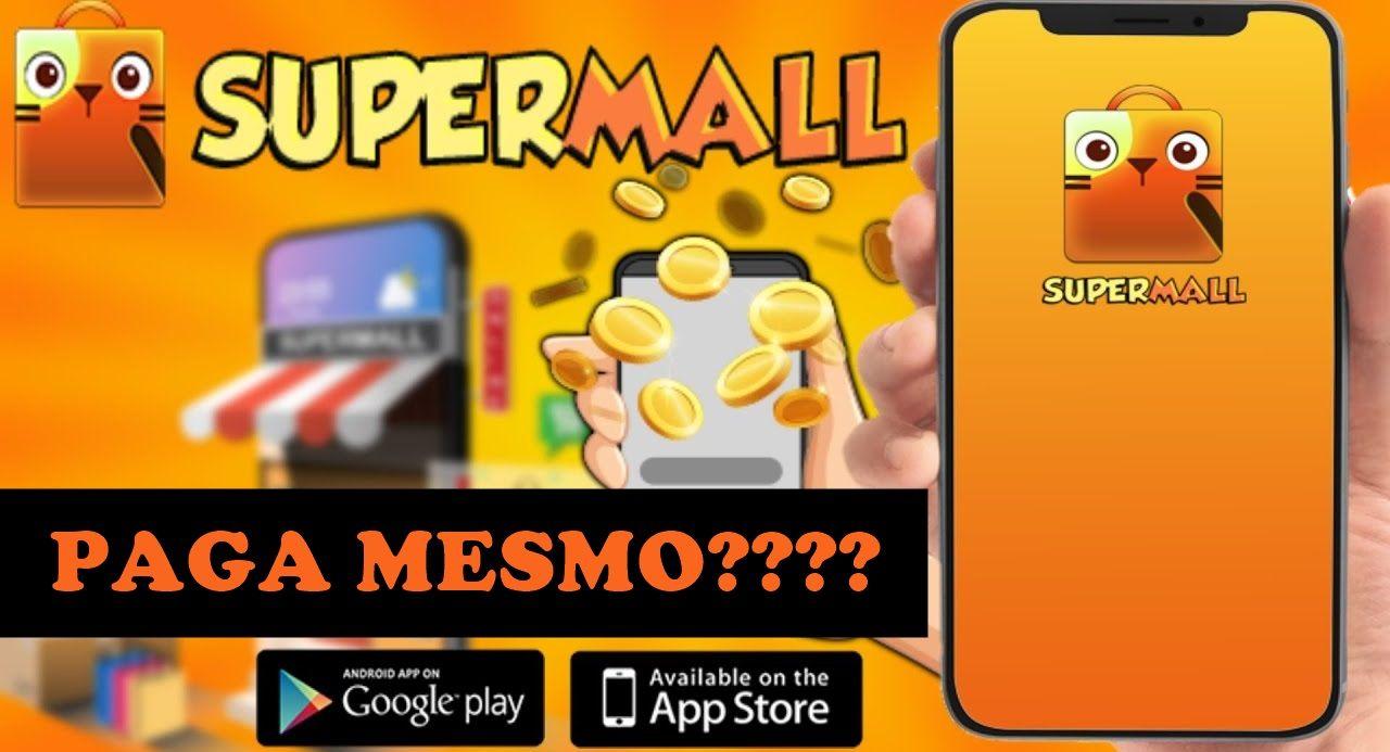 SUPERMALL App de Recompensas Primeiro pagamento de R$120 no Pix