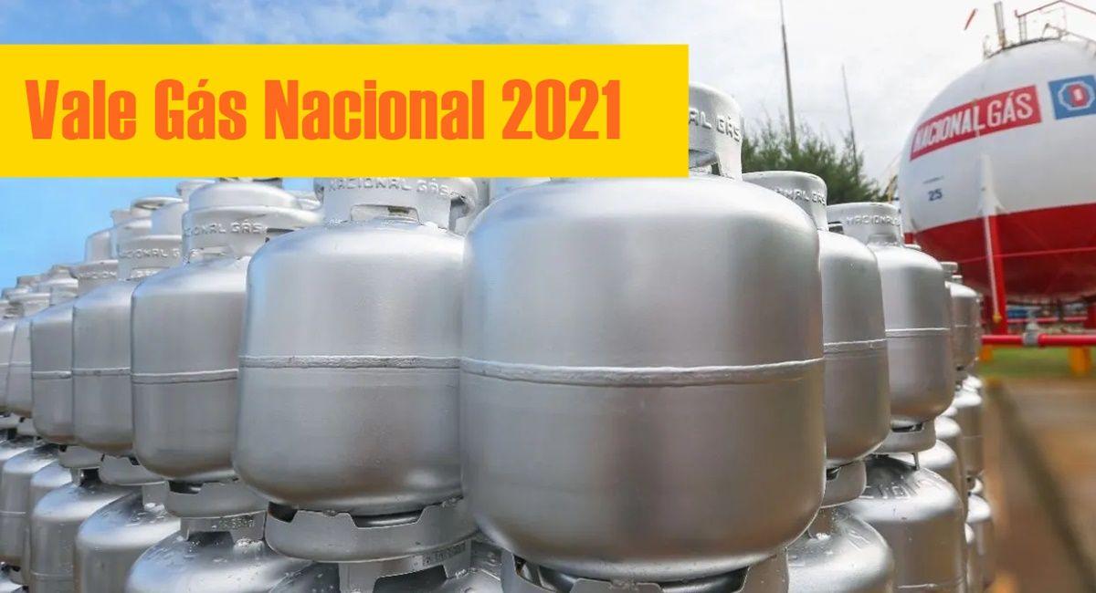 Vale Gás Nacional 2021 Quem terá direito, como será pago e como realizar o cadastro