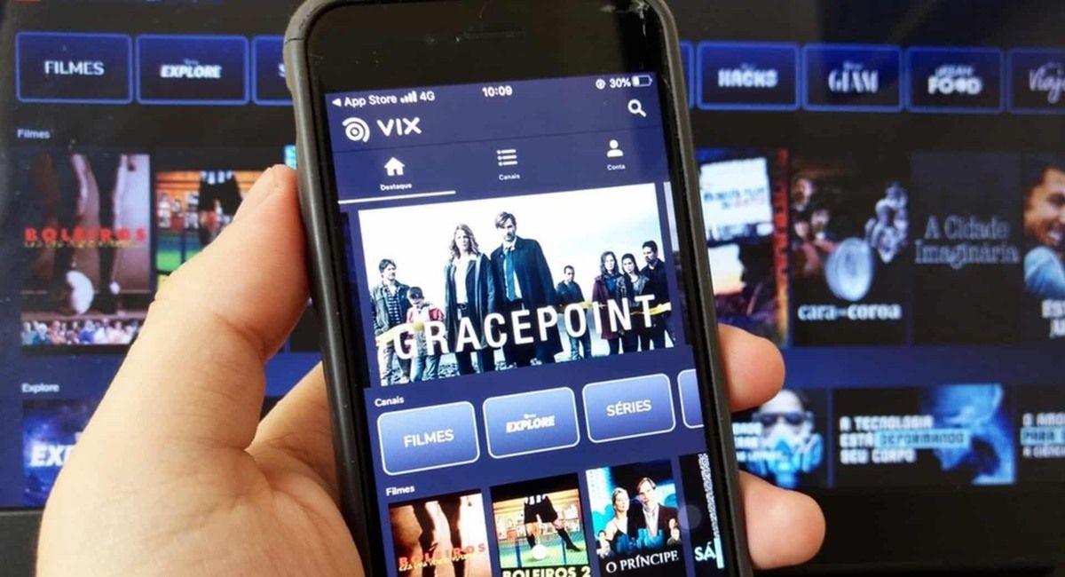 Vix Filmes e TV Grátis App Filmes, Séries, Shows e Novelas através do Aplicativo
