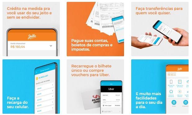 aplicativo que empresta dinheiro para pagar contas