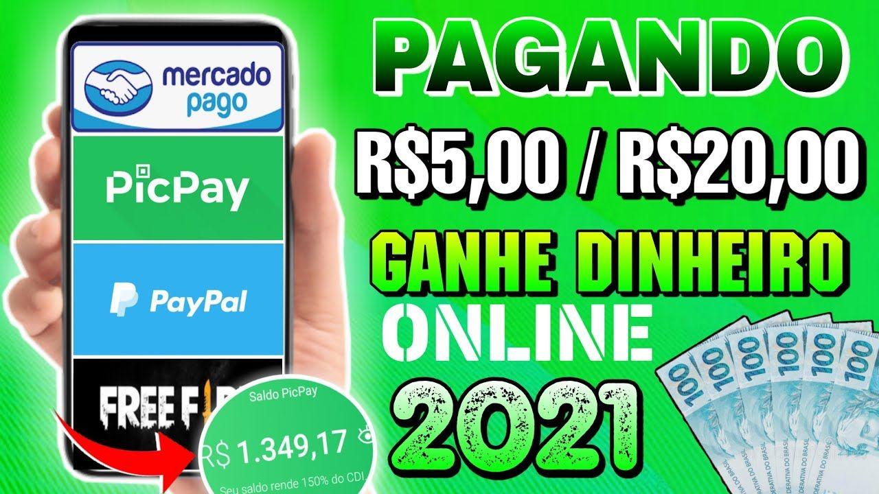 10 sites e apps para ganhar dinheiro na internet Pagamentos via Pix, PicPay, PayPal e Lojas Virtuais