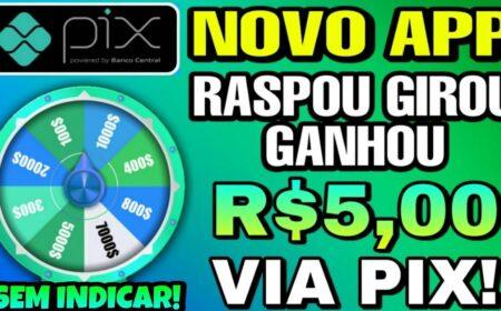App Brasileiro Girou Ganhou: Pagamento via Pix sem precisar investir é real? Funciona mesmo?