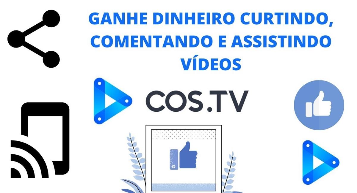 COS.TV App - O que é, como funciona e como ganhar dinheiro na plataforma de vídeos