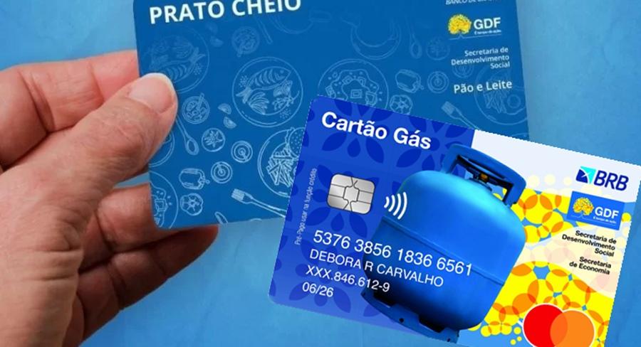 Cartão Gás e Programa Prato Cheio Cadastro e Retirada dos Benefícios