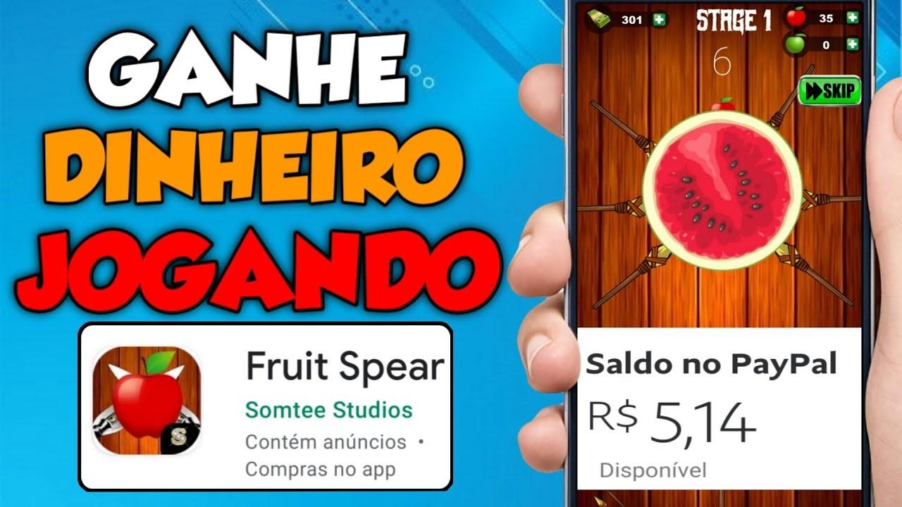 Fruit Spear App Jogo das frutas com pagamentos reais para quem ganha os desafios