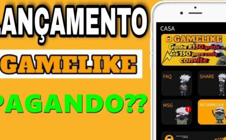 GAMELIKE Plataforma: App garante R$50 reais no cadastro + R$50 por convidado – Paga mesmo?