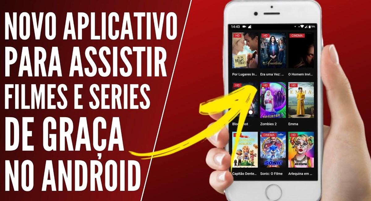 GO HD Filmes App é seguro Aplicativo de Séries e Animes para Android