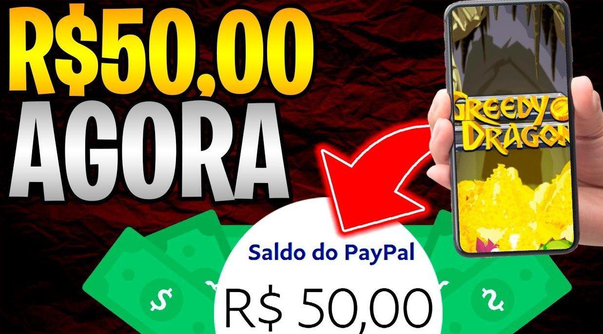 Greedy Dragon App Jogo paga em Euros no PayPal Converta para Reais e receba no Pix